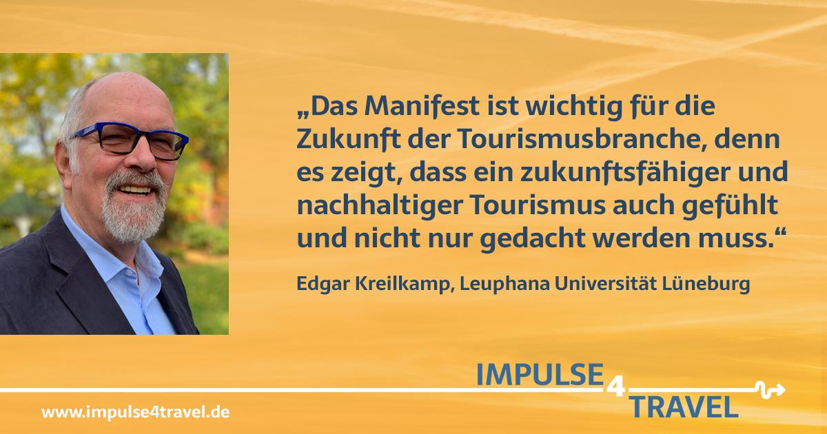 Edgar Kreilkamp #impulse4travel Manifest