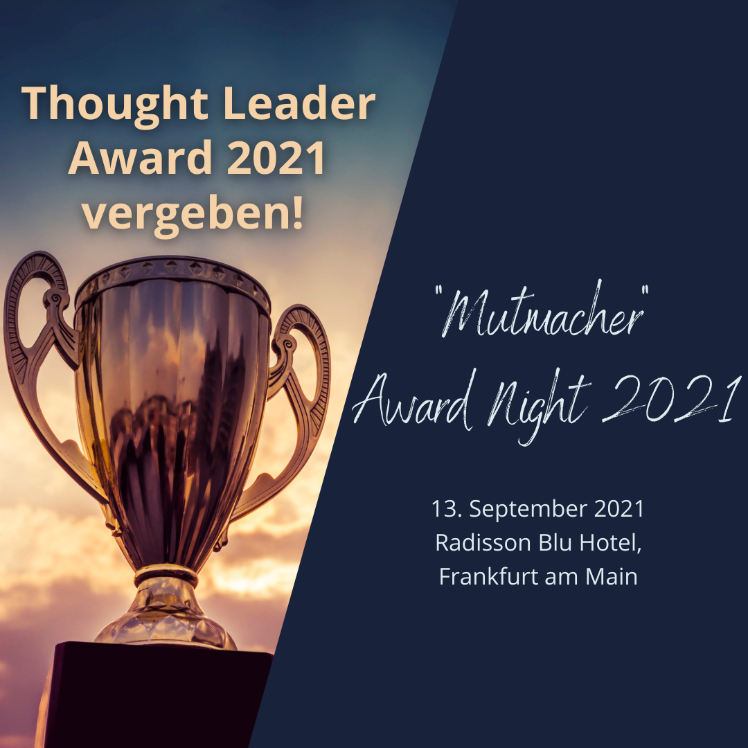 Travel Industry Club Thought Leader Award